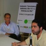 SEMINÁRIO GOVERNANÇA AMBIENTAL (SP, 2007) - FOTO 4